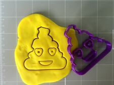 Happy Poop With Lovely Eyes Cookie Cutter