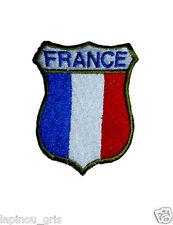 Ecusson blason patch de bras France brodé airsoft paintball original