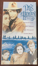 Vhs Days Of Heaven 1978 Pg Gere Shepard Vguc Tested