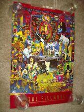 The Fillmore original 1994 Bill Graham Presents Concert Poster #F122A