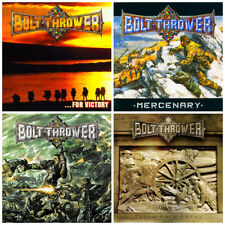 BOLT THROWER : Victory + Mercenary + Honour + Those (pack4CDs : w/o jewel-cases)