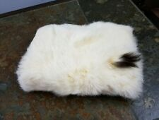 Antique Vintage Authentic Alaskan White Rabbit Girl Childs Hand Muff