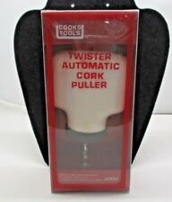 Vintage New old Stock Cooks Tools Automatic Cork Puller Wine Mister Twister