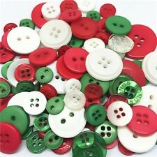 Jesse James Buttons ~ Dress It Up  1,000+ CHRISTMAS  ROUND SEWING BUTTONS CRAFTS