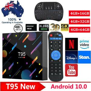 2021 T95  New Smart Android 10.0 TV BOX HD for Netflix Video MXQ Pro Quad Core