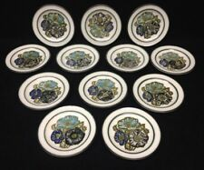 "Wedgwood Iona England Set of 12 Dessert Bread Plates 6 3/8""  Mint"