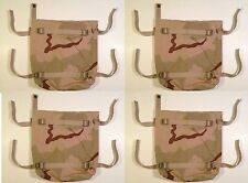 RADIO POUCH MODULAR MAIN PACK BACKPACK DCU DESERT CAMO US ARMY MILITARY LOT of 4