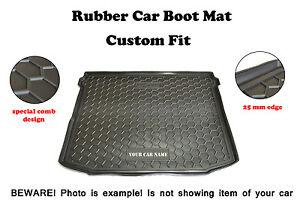 Rubber Trunk Liner Mat Boot Cargo Tray Alfombra Mitsubishi OUTLANDER XL 2007-12