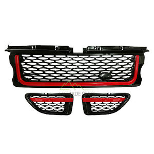 RANGE ROVER SPORT FRONT GRILLE UPGRADE AUTOBIOGRAPHY STYLE & VENTS (2005-2009)