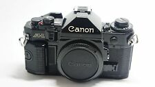 Canon A-1 35mm SLR Film Black Camera Body Only ++excellent condition++