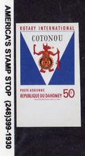 1969 Dahomey SC C106 Imperf, MNH, Rotary International Issue*