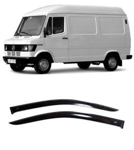 Per Mercedes-Benz T1 1977-1996 Finestrino Lato Visiere Sole Pioggia Guard Sfiato