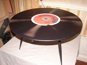 MAISONS DU MONDE VINYL RECORD TABLE