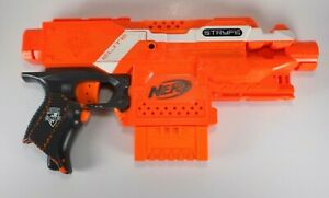 Nerf N-Strike Elite Stryfe Orange Motorized Blaster Dart Gun ***READ****