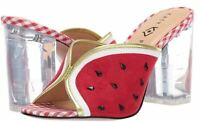 Katy Perry Novelty Heeled Sandals The Picolo True Red - NEW