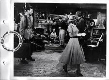 LINEN BACKED Jennifer Jones, Charlton Heston studio key book still RUBY GENTRY (