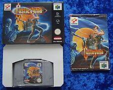 CastleVania (Castle Vania), Nintendo 64 Spiel, OVP Anleitung