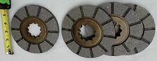 4 International Harvester Farmall brake disc H, Super H, Super W-4, 300, 350