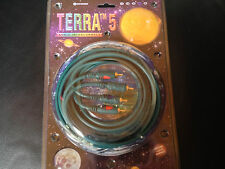 Wireworld Terra 5  3M stereo audio cable patch cord gold interconnect car home