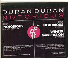 "DURAN DURAN Notorious 12"" PROMO single~Rare LATIN RASCALS Mix~Nile Rogers V15266"