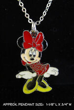 Mouse Necklace Charm Steel Chain