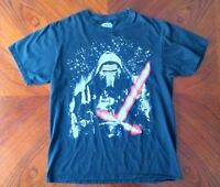 Star Wars Kylo Ren Black T Tee Shirt M Medium Lightsaber