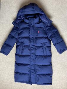 ralph lauren Girls Navy Blue Down Coat Age 10-12 Years (150cm).RRP £179