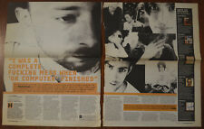 More details for radiohead interview cutting from nme 30/09/2000