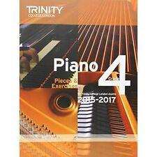 Piano 2015-2017: PIECES & exercices: Grade 4 par Trinity College London...