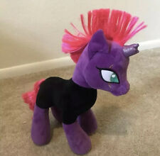 Build A Bear My Little Pony Tempest Shadow Plush Purple Villain Unicorn Stuffed