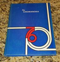 1976 Chowan College Yearbook Murfreesboro North Carolina The Chowanoka