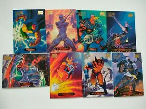 Marvel Masterpieces 1994 Gold Foil Signature Series Single Trading Cards