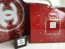 Chanel No 5 L'Eau EDT Red Miniature Christmas 2018 VIP Brand New