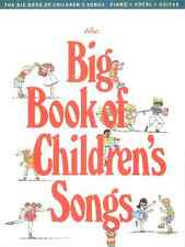 THE BIG BOOK OF CHILDREN'S SONGS-PIANO/VOCAL/GUITAR MUSIC BOOK BRAND NEW ON SALE