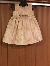 La Princess Gold Dress Girls 18M