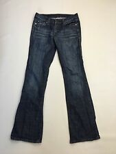 Women's Levi 553 'Bootcut' Jeans - W28 L32 - Navy Wash - Great Condition