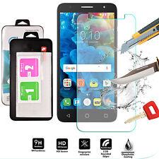 Genuine Shockproof Tempered Glass Screen Protector For alcatel Pop 4+ Plus