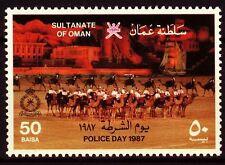 Oman 1987 ** Mi.303 Polizei Police Kamele Camel patrol