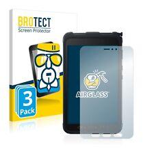 3x Schutzpanzer Glasfolie für Samsung Galaxy Tab Active 3 Panzerfolie Schutz