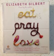 Elizabeth Gilbert EAT PRAY LOVE cd audiobook audio book unabridged