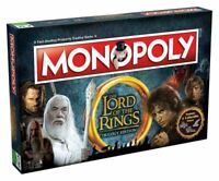 Lord of The Rings Monopoly Board Game