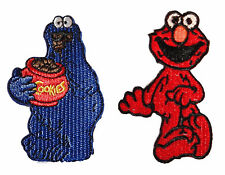 Sesame Street Elmo & Cookie Monster Embroidered Patch