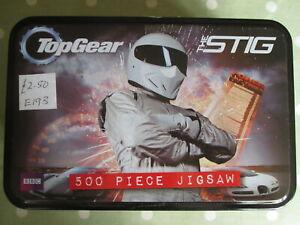 Top gear Stig 500 piece jigsaw puzzle. vintage games