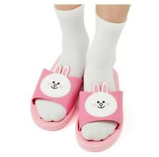 [Line Friends] Pink Cony Home Bath Non-Slip Slippers Shower Outdoor Sandals