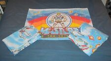 Vintage 80s Twin Sheet Set Masters Of The Universe fitted flat pillowcase Motu
