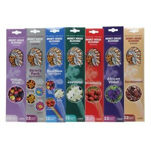6 PACK Money House Blessing Incense Sticks,22 COUNT TOTAL NEW