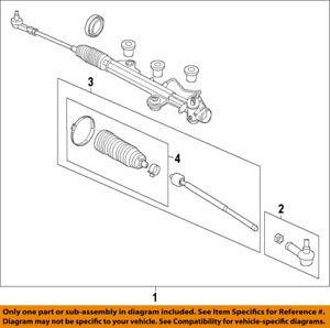 FORD OEM 2015 Transit-350 HD Steering Gear-Inner Tie Rod End BK2Z3280A