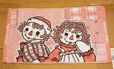 Raggedy Ann and Andy Japan Bath Rug