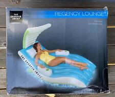 Regency Lounge Swimming Inflatable Floating Chair New