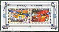 BURUNDI  2015 ESA  ROSETTA  & SOLAR ORBITER MISSONS  SHEET  OF TWO MINT NH